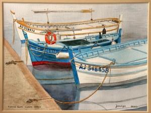 Fishing Boats Ajaccio Corsica