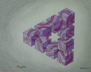 Problem Triangle - Puzzle