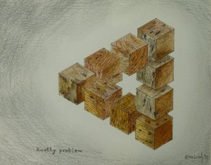 Problem Triangle - Wooden Blocks
