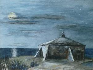 St Aldhelm's Chapel- Night Time