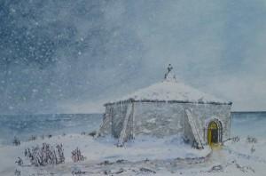 St Aldhelm's Chapel - Winter