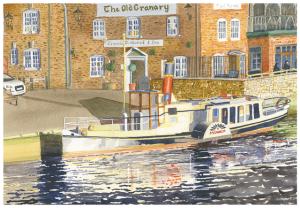 Paddle Steamer Wareham Quay