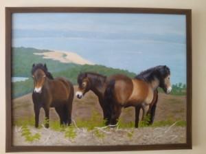 Ponies on Godlingstone Heath