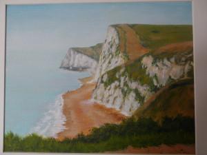 Towards Bats Cliff